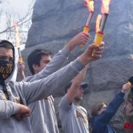 Dnešní mladí ukrajinští fašisté